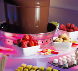 Chocolate Fountain - Food for Thought Surrey
